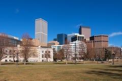 Denver du centre pendant la journée Image libre de droits