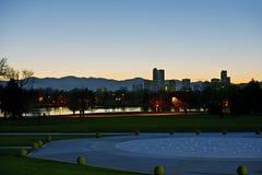 Denver Dusk fotografie stock libere da diritti