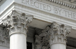 Denver Historic Pillars Stock Photos