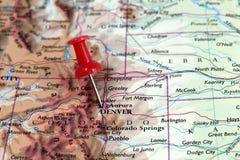 Denver i Colorado, USA Royaltyfria Bilder