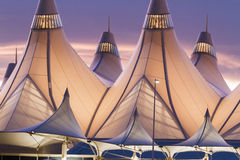 Denver International Airport Stock Image