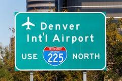 Denver International Airport Stockfoto