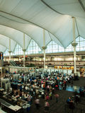 Denver International Airport Royalty Free Stock Photography