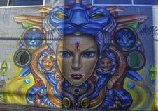 Denver, Kolorado graffiti Zdjęcie Stock