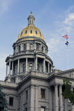 Denver, Kolorado - Zustand-Kapitol Stockfotos