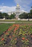 Denver, Kolorado - Zustand-Kapitol Lizenzfreies Stockfoto