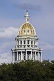 Denver, Kolorado - Zustand-Kapitol Lizenzfreies Stockbild