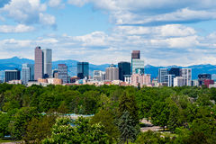 Denver le Colorado image libre de droits