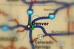 Denver, le Colorado - U S photographie stock libre de droits