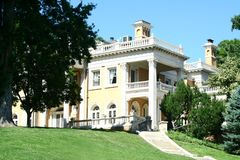 Denver Mansion Stock Image