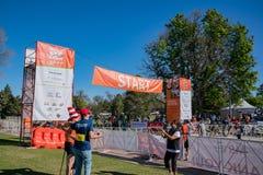 Walk MS 2017 Marathon. Denver, MAY 6: Walk MS 2017 Marathon on MAY 6, 2017 at Denver, Colorado royalty free stock photo