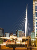 Denver Millennium Bridge Royalty Free Stock Photo