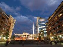 Denver Millennium Bridge Royalty Free Stock Image