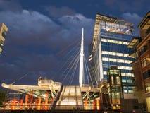 Denver Millennium Bridge Royalty Free Stock Photography