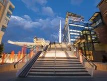 Denver Millennium Bridge Stock Photo