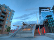 Denver Millennium Bridge Royalty Free Stock Photos