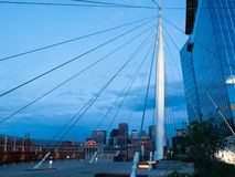 Denver Millennium Bridge Stock Photos