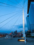 Denver Millennium Bridge Royalty Free Stock Image