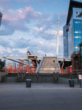 Denver Millennium Bridge Royalty Free Stock Photo