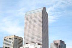 Denver muito ao alto Fotografia de Stock Royalty Free