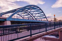 Denver Road Bridge Royalty-vrije Stock Afbeelding