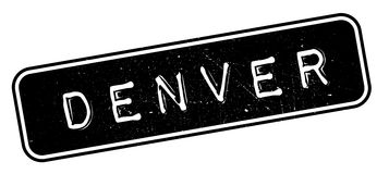 Denver rubber stamp. Grunge design with dust scratches. Effects can be easily removed for a clean, crisp look. Color is easily changed Stock Images