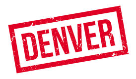 Denver rubber stamp Royalty Free Stock Photography