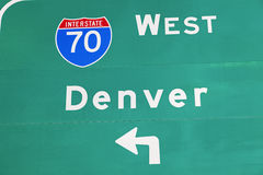 Denver sign Stock Images