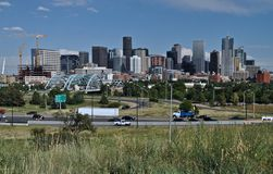 Denver Skyline Royalty Free Stock Images