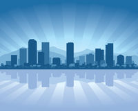 Denver skyline Stock Photography