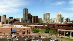 Denver Skyline de campus d'Auraria clips vidéos