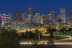 Denver Skyline Royalty Free Stock Photos