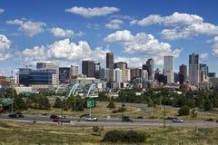 Denver Skyline, le Colorado Photos stock