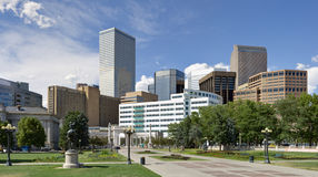 Denver Skyline from South East Royalty Free Stock Photography