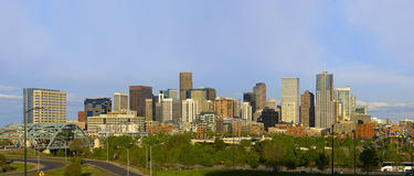 Denver Skyline Spring 2010 Stock Images