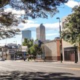 Denver skyline. Royalty Free Stock Photo