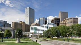 Denver-Skyline vom Südosten Lizenzfreie Stockfotografie