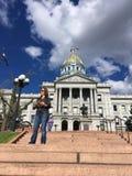 Denver State Capital Building Fotografia Stock