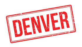 Denver-Stempel Lizenzfreie Stockfotos