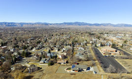 Denver suburbs Royalty Free Stock Images
