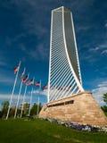 Denver Tech Center Monument Stock Photo