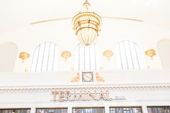 Denver Union Station Lizenzfreie Stockfotos