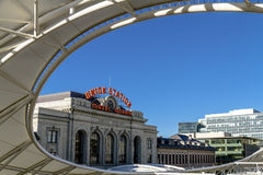 Denver Union Station Train Depot Royalty Free Stock Photo