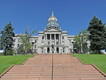 Denwerski Kolorado stanu Capitol budynek zdjęcia stock
