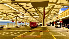 Denwerski lotnisko obrazy royalty free