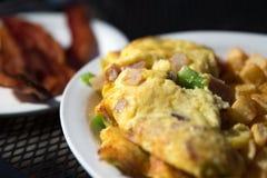Denwerski omlet Zdjęcia Royalty Free