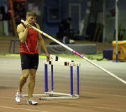 Denys Yurchenko on the Ukrainian Cup in Athletics Royalty Free Stock Photography