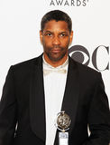 denzel washington royaltyfri bild