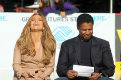 Denzel Washington, Jennifer Lopez Lizenzfreies Stockfoto