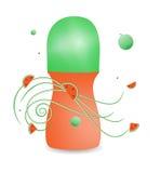 Deodorant met het aroma van watermeloen Stock Afbeelding